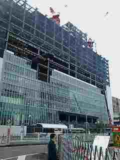 新横浜駅ビルです